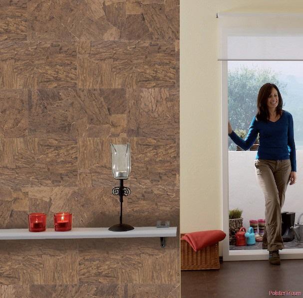 kork f r w nde. Black Bedroom Furniture Sets. Home Design Ideas
